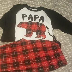 Other - Papa bear pjs